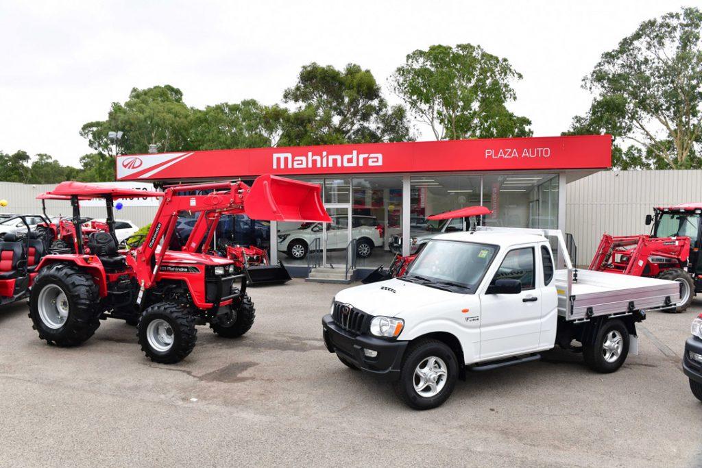 Mahindra Australia and Plaza Auto open flagship showroom in